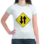 Two Way Traffic Jr. Ringer T-Shirt