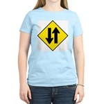 Two Way Traffic Women's Pink T-Shirt