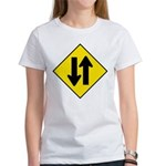 Two Way Traffic Women's T-Shirt