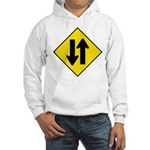 Two Way Traffic Hooded Sweatshirt
