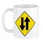 Two-Way Traffic Sign - Mug