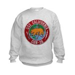 USS CALIFORNIA Kids Sweatshirt