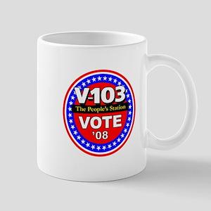 V-103 VOTE 08 Mug