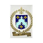 BROSSEAU Family Crest Rectangle Magnet (100 pack)