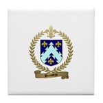 BROSSEAU Family Crest Tile Coaster