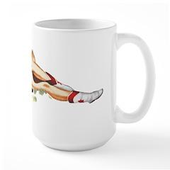 Trudy's Cowgirl Large Mug