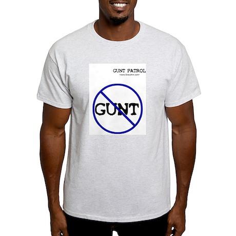 Gunt Patrol Ash Grey T-Shirt