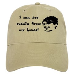 I Can See Russia from my Hous Baseball Cap