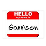 Hello my name is Garrison Postcards (Package of 8)