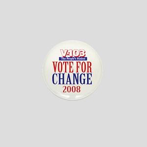 Vote for Change Mini Button