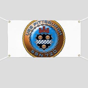 USS Pittsburgh SSN 720 Banner