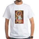 Little Girl Halloween White T-Shirt