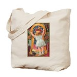 Little Girl Halloween Tote Bag
