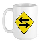 Goes Both Ways - Large Mug