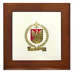 BRUN Family Crest Framed Tile