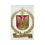 BRUN Family Crest Rectangle Magnet