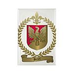 BRUN Family Crest Rectangle Magnet (100 pack)