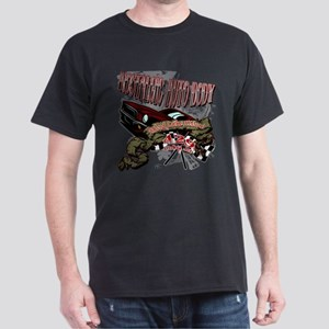 Mustang Muscle Car Rocker Tee Shirt