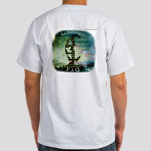 Cowboys Logo & FAQ Ash Grey T-Shirt