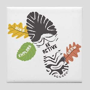 Be Active Tile Coaster
