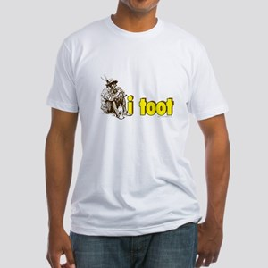 I Toot... Fitted T-Shirt