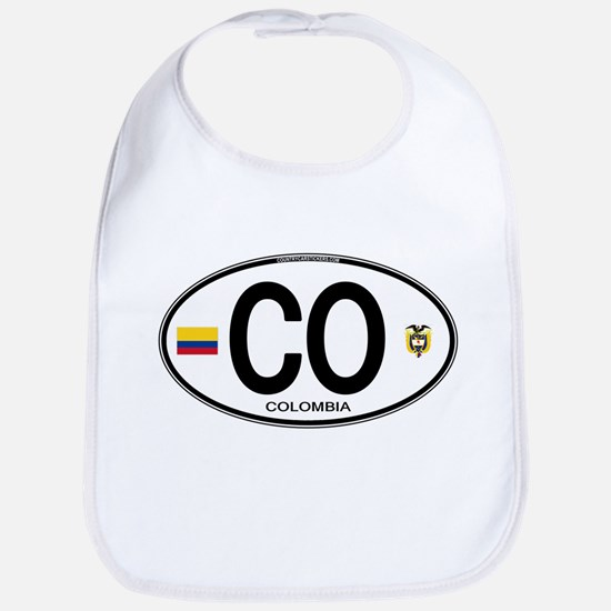 Colombia Euro Oval Bib