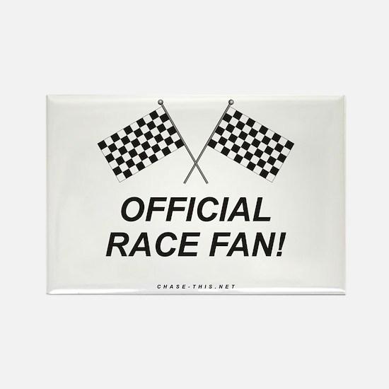 Checker Flag Official Rectangle Magnet