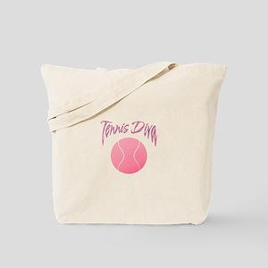 Tennis Diva Tote Bag