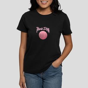 Tennis Diva Women's Dark T-Shirt