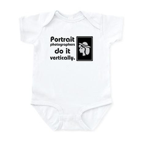 Portrait photographers do it Infant Bodysuit