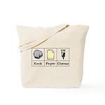 Rock Paper Chemo Tote Bag