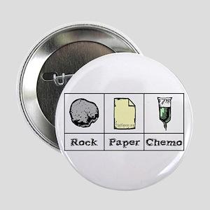 """Rock Paper Chemo 2.25"""" Button"""