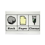 Rock Paper Chemo Rectangle Magnet (10 pack)