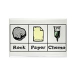 Rock Paper Chemo Rectangle Magnet (100 pack)