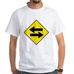 Goes Both Ways White T-Shirt