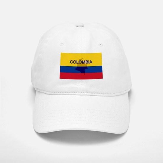 Colombian Flag Extra Baseball Baseball Cap