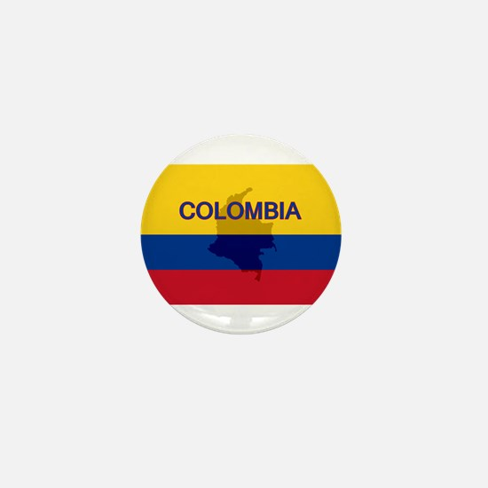 Colombian Flag Extra Mini Button