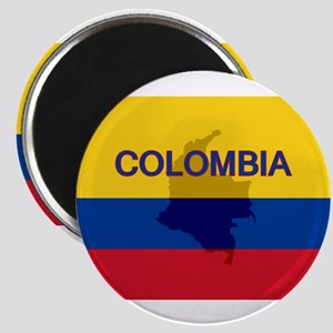 Colombian Flag Extra Magnet