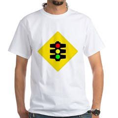 Traffic Light White T-Shirt