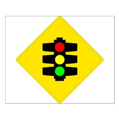 Traffic Light Sign - Posters