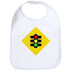 Traffic Light Sign - Bib