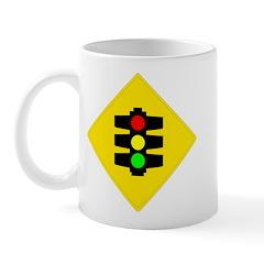 Traffic Light Sign - Mug