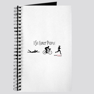 I see crazy people Journal