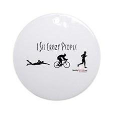 It's Business Time Ornament (Round)