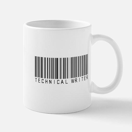 Technical Writer Barcode Mug