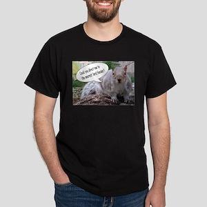 Squirrel Bird III Dark T-Shirt