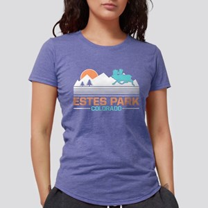 Estes Park Colorado Women's Dark T-Shirt