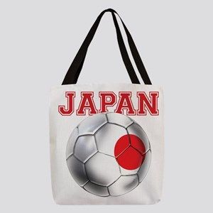 Japan Football Polyester Tote Bag