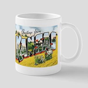 Kansas KS Mug