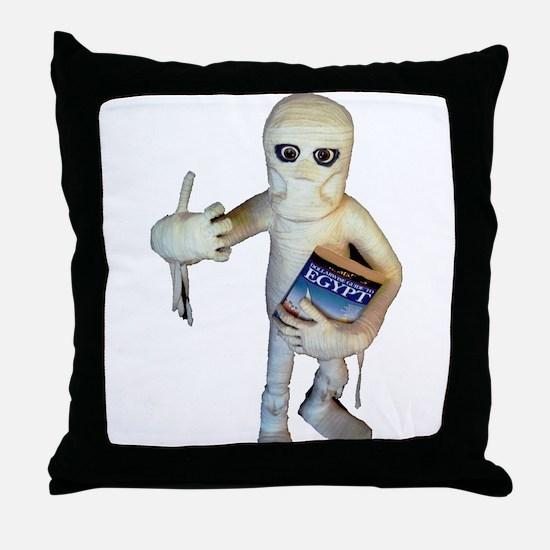 I want me Mummy Throw Pillow